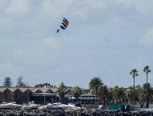 Paragliding, St Kilda Pier