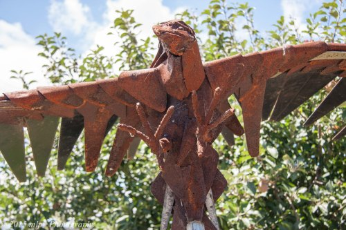 Rusty Eagle Sculpture II