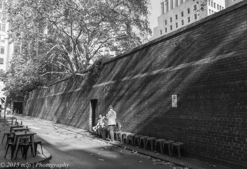Melbourne Club Wall