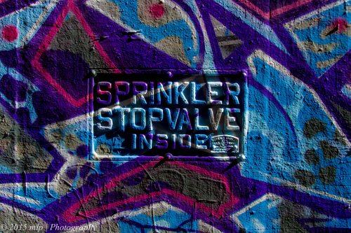 Sprinkler Stop Valve Inside, Melbourne CBD