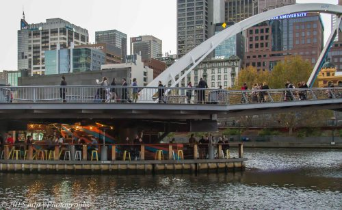 Yarra Walking Bridge, Melbourne CBD