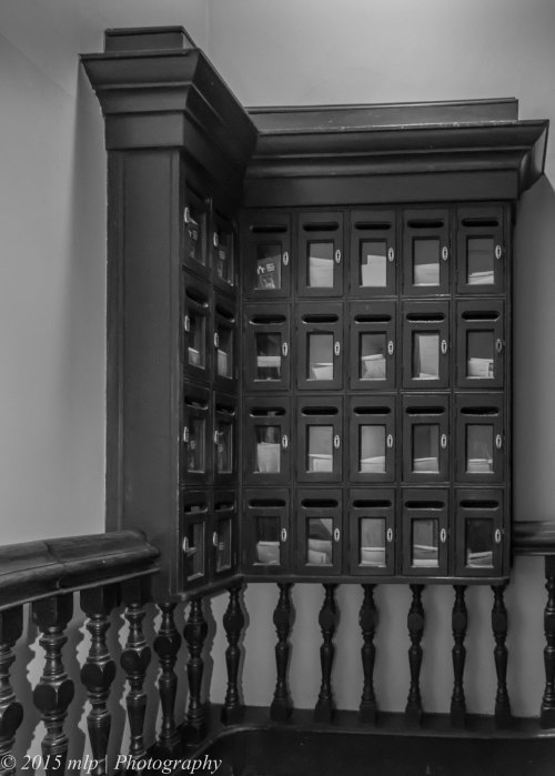 Block Arcade Stairwell Letterboxes