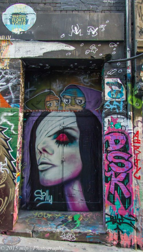 Hosier Lane Artwork  Melbourne CBD