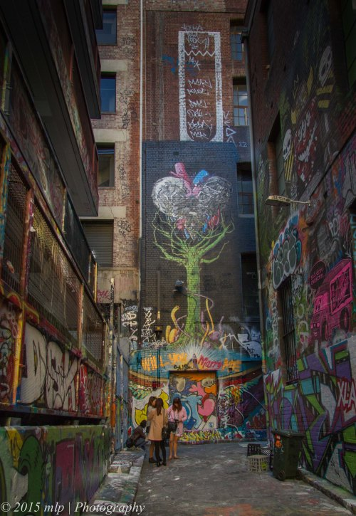 Rutledge Lane off Hosier Lane, Melbourne CBD