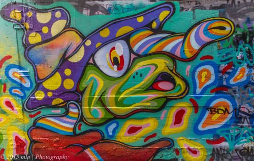 Union Lane Street Art, Melbourne CBD