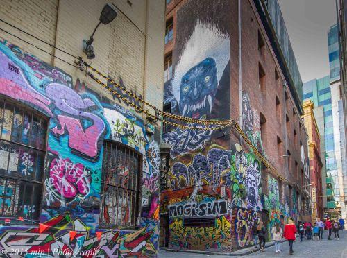 Hosier Lane,Melbourne CBD