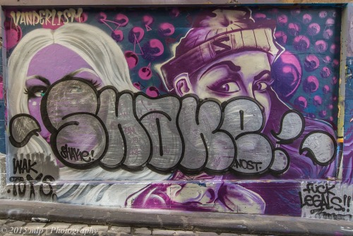 Hosier Lane Art, Melbourne CBD,