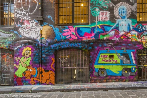 Hosier Lane Street Art , Melbourne CBD