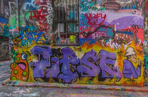 Hosier Lane Street Art, Melbourne CBD