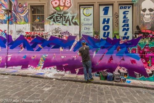 Hosier Lane Street Art, Melbourne CBD