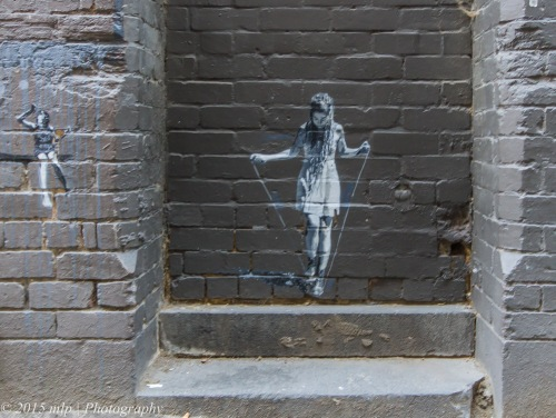Street Art, Drewery Lane, Melb CBD