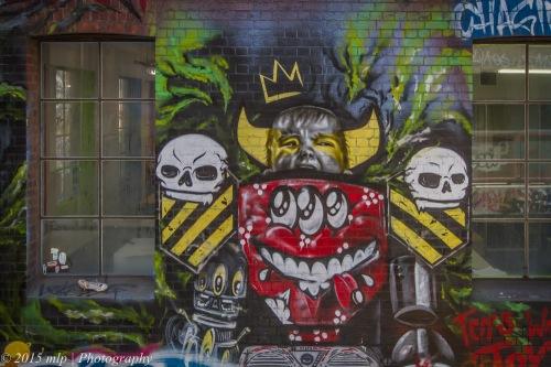 Hosier Lane Art, Melbourne CBD