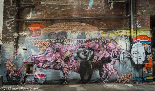 Street Art, ACDC Lane, Melbourne CBD,