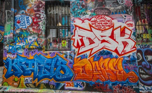 Street Art, Hosier Lane, Melbourne CBD