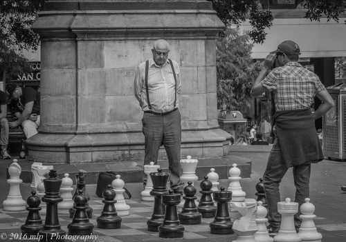 Chess at the State Library, Melbourne CBD