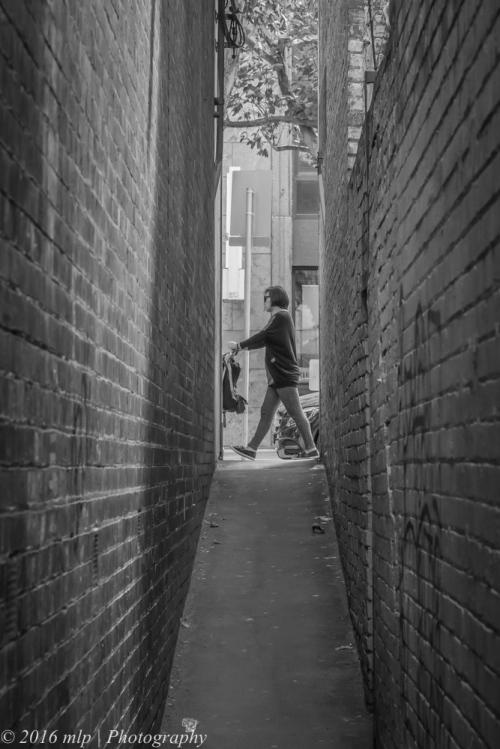 Laneway off Lonsdale St, Melbourne CBD