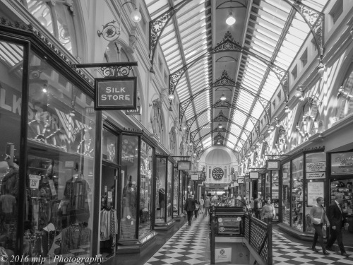 Royal Arcade, off Bourke St Mall, Melbourne CBD