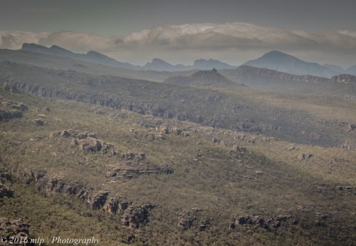 View from the Balconies, Grampians National Park, Victoria