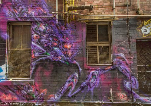 Street Art, Blender Lane, Melbourne CBD
