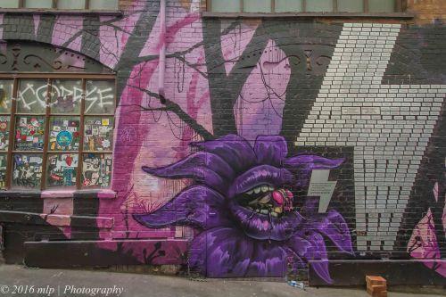 Streetart ACDC Lane, Melbourne CBD