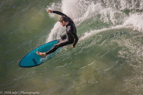 Surfer, Point Addis, Great Ocean Road, Victoria