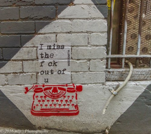 Miss You, Wrdsmth, Melbourne CBD