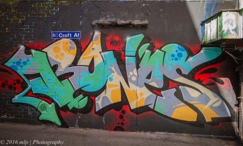 Street Art, Croft Alley, Melbourne CBD, Victoria