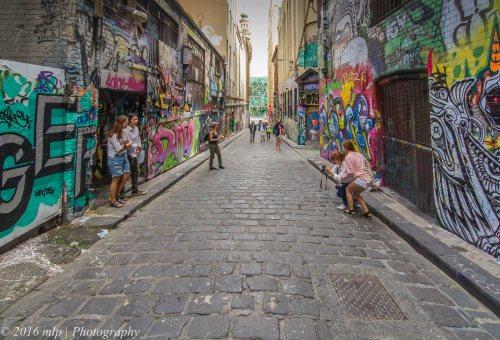 Hosier Lane , Melbourne CBD, Victoria