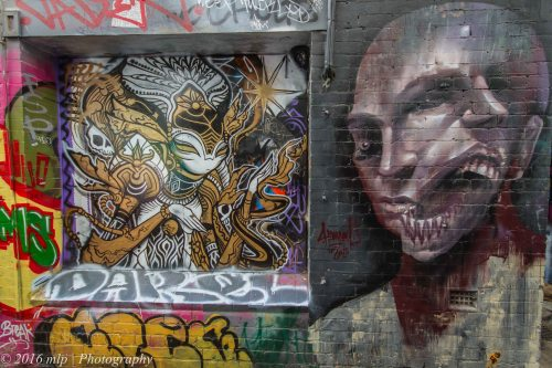 Street Art, Croft Alley, Melbourne CBD, Victoria