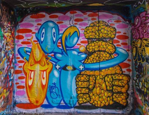 Street art, Hosier Lane , Melbourne CBD, Victoria