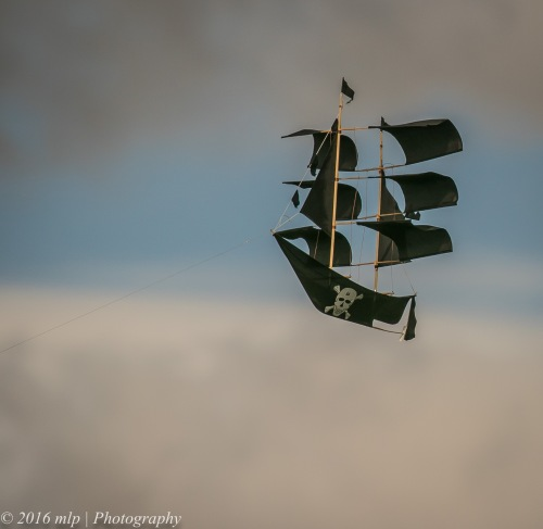 Pirate Kite, Point Ormond, Elwood Beach, Victoria