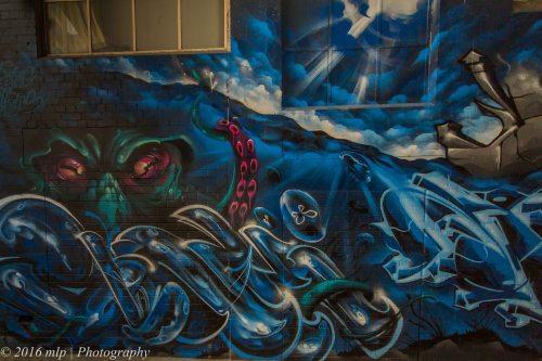 Street Art, Finlay Alley, Melbourne CBD
