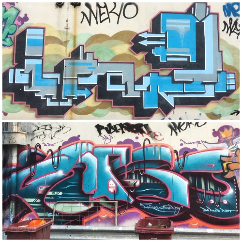 Acland St Street Art December 2016