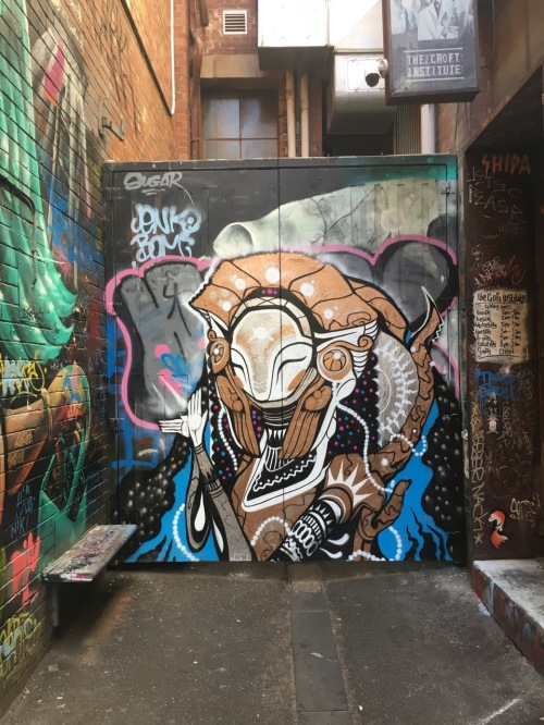 Melbourne Street Art - February 2017