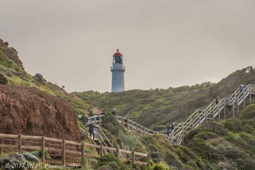 Cape Schanck boardwalk and lighthouse, Mornington Peninsula National park, Vic