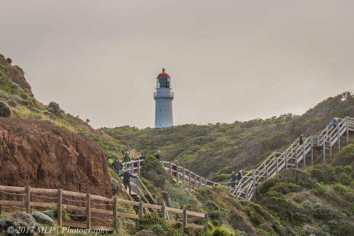 Cape Schanck boardwalk and lighthouse, Mornington Peninsula National park, Vic