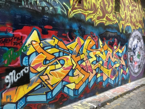 Melbourne Street Art - April 2017